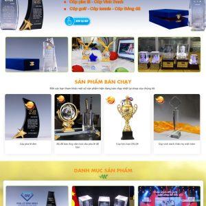 Thiết kế website quà tặng